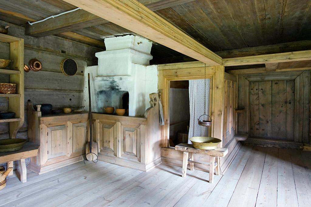 Убранство в крестьянском литовском доме фото