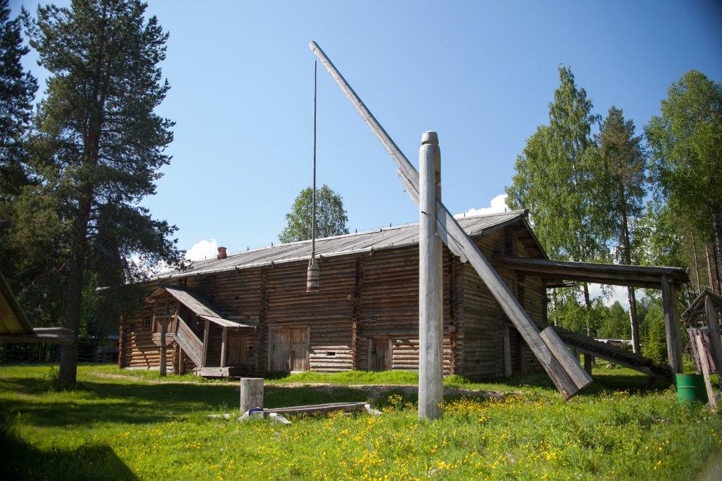 Архангельский музей деревянного зодчества Малые Корелы